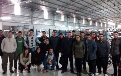 Visitas de alumnos al Parque Industrial