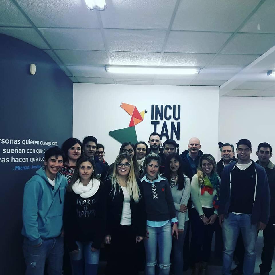 Visita de alumnos al Club de Emprendedores.