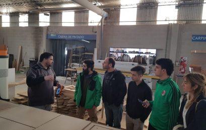 Alumnos de diseño industrial visitan la empresa Maditec